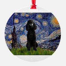 5.5x7.5-Starry-Pood-Blk-Paris.PNG Ornament