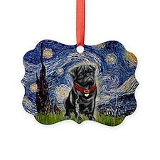 MP-STARRY-Pug-Blk14.png Ornament