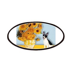 Rat Terrier - Sunflowers.png Patches