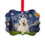 MP-STARRY-Westie1.png Picture Ornament