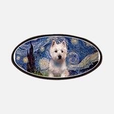 Starry - Westie (P) Patches