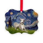 5.5x7.5-Starry-Whippet2.png Picture Ornament
