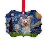 MP-STARRY-Yorkie-Tess.png Picture Ornament
