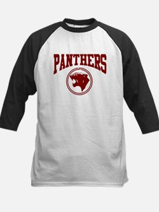 Panther Circle Head DK RED Kids Baseball Jersey