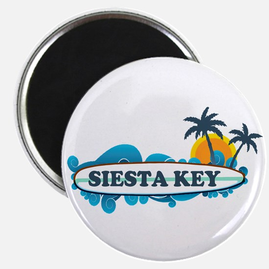 Siesta Key - Surf Design. Magnet