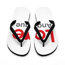 I Love Angelique Flip Flops