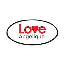 I Love Angelique Patches