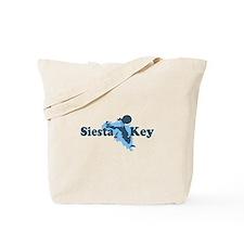 Siesta Key - Map Design. Tote Bag