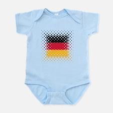 Flag of Germany / Deutschlandflagge Infant Bodysui
