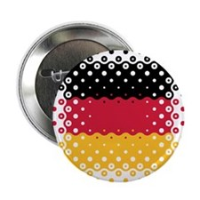 "Flag of Germany / Deutschlandflagge 2.25"" Button"