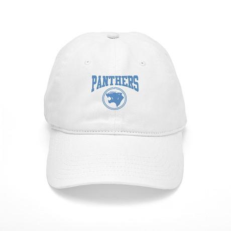 Panther Circle Head LT BLUE Cap