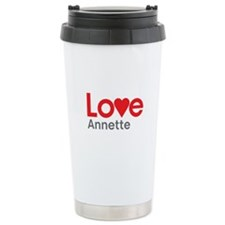 I Love Annette Travel Mug