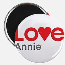 "I Love Annie 2.25"" Magnet (10 pack)"