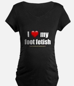 """Love My Foot Fetish"" T-Shirt"