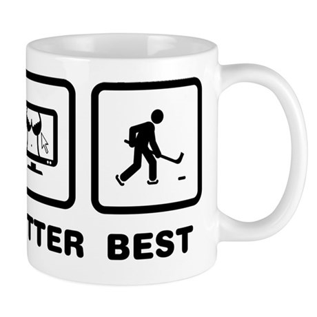 Ice Hockey Mug