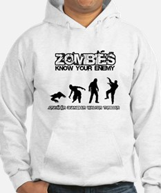 Zombies: Know Your Enemy Hoodie
