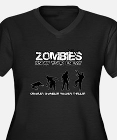 Zombies: Know Your Enemy Plus Size T-Shirt