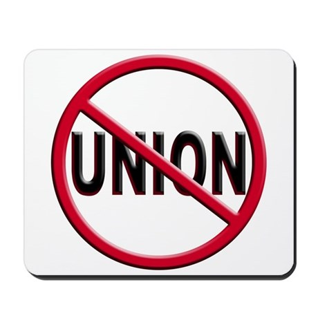 Anti-Union Mousepad