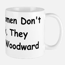 Real Woman Don't Park They Cruise Woodward Mug