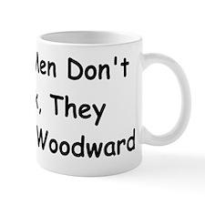 Real Men Don't Park They Cruise Woodward Mug
