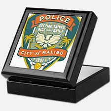 The Big Lebowski Malibu Police Keepsake Box