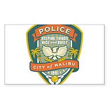 The Big Lebowski Malibu Police Decal