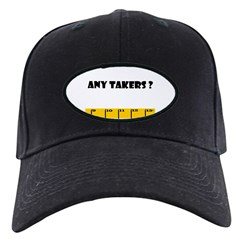 Ruler Any Takers? Baseball Hat