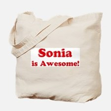 Sonia is Awesome Tote Bag