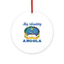My Identity Angola Ornament (Round)