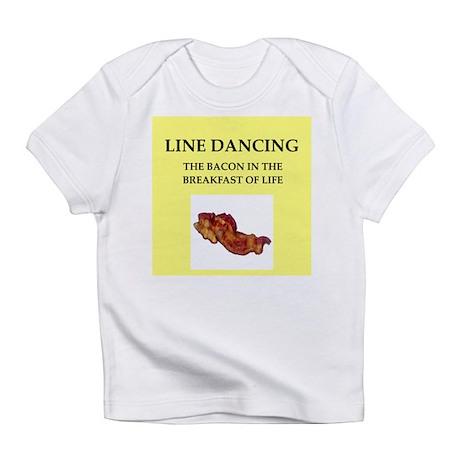 line dancing Infant T-Shirt