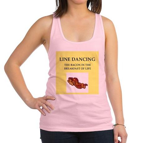 line dancing Racerback Tank Top