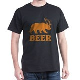 Beer bear deer Dark T-Shirt