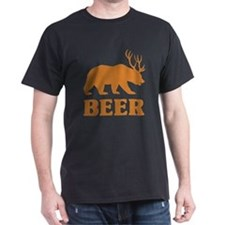 Bear+Deer=Beer T-Shirt