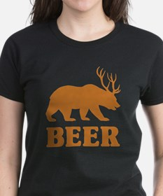 Bear+Deer=Beer Tee