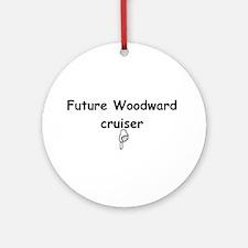 Future Woodward Cruiser Ornament (Round)
