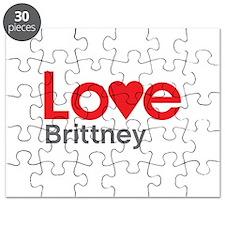 I Love Brittney Puzzle