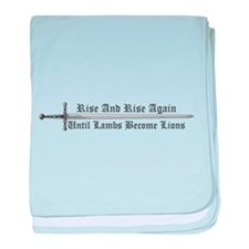 Rise and Rise Again baby blanket
