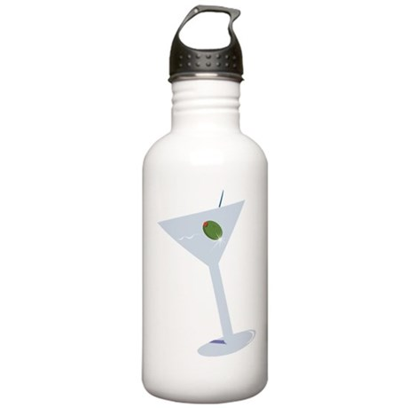 Martini Water Bottle