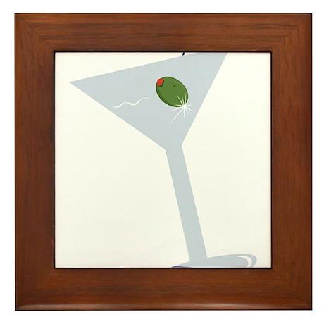 Martini Framed Tile
