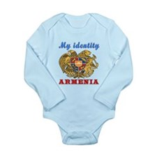My Identity Armenia Long Sleeve Infant Bodysuit