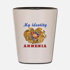 My Identity Armenia Shot Glass