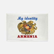 My Identity Armenia Rectangle Magnet