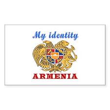 My Identity Armenia Decal