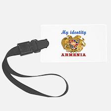 My Identity Armenia Luggage Tag