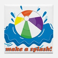 Make A Splash! Tile Coaster