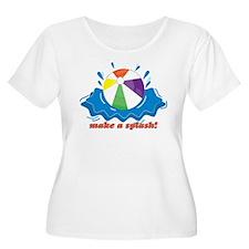 Make A Splash! Plus Size T-Shirt