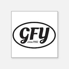 GFY MochUp 1 Sticker