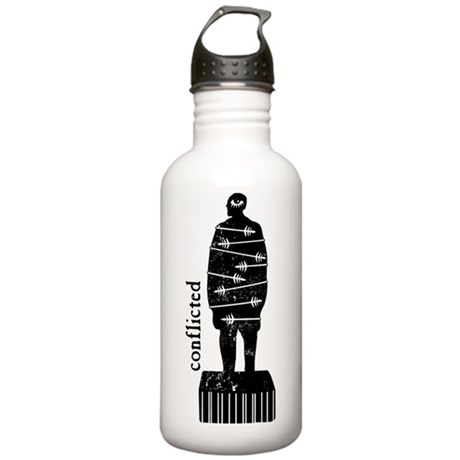conflicted Water Bottle