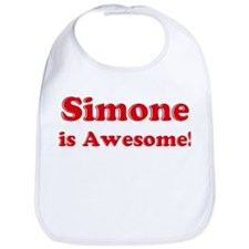 Simone is Awesome Bib