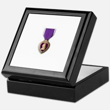 Purple Heart Medal Keepsake Box
